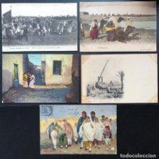 Postales: 10 POSTALES ANTIGUAS ÉTNICAS AFRICA DEL NORTE-II. Lote 293264718