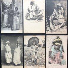 Postales: 12 POSTALES ANTIGUAS ÉTNICAS AFRICA DEL NORTE-IV. Lote 293265833