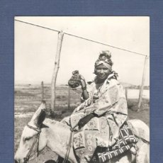 Postales: POSTAL FOTOGRAFICA: INDIA GUAJIRA (VENEZUELA) - ESCRITA, FECHADA 1959. Lote 295823398