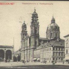 Postales: 1 POSTAL DE IGLESIA DE LOS TEATINOS (MUNICH). Lote 791056