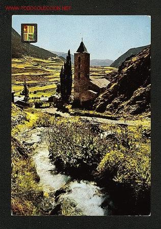 POSTAL D' ANDORRA: CANILLO, VISTA PARCIAL (ED.ESCUDO DE ORO NUM.495) (Postales - Postales Extranjero - Europa)
