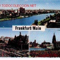 Postales: 7-768. POSTAL FRANKFURT/MAIN. Lote 150668
