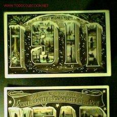 Postales: LOTE DE DOS POSTALES ANTIGUAS IMPRESA EN INGLATERRA CON IMÁGENES DE PAGODAS. Lote 24612855
