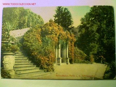 POSTAL DE BADEN-BADEN (Postales - Postales Extranjero - Europa)