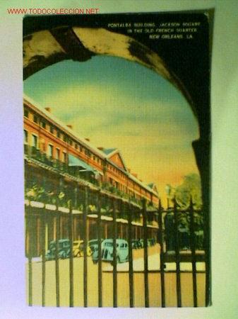 POSTAL ANTIGUA DEL THE PONTALBA BUILDINGS EN NEW ORLEANS. EDITADA EN U.S.A. (Postales - Postales Extranjero - Europa)