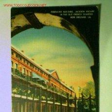 Postales: POSTAL ANTIGUA DEL THE PONTALBA BUILDINGS EN NEW ORLEANS. EDITADA EN U.S.A.. Lote 1939018