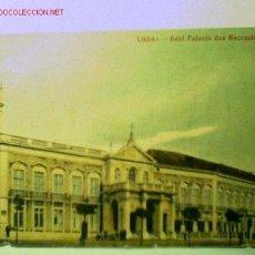 Postales: POSTAL ANTIGUA DE LISBOA. REAL PALACIO DAS NECESSIDADES, EDITADA EN PORTUGAL. Lote 1832753