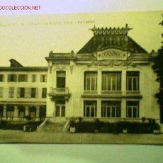 Postales: POSTAL ANTIGUA DE DAUPHINÉ- ALLEVARD LES BAINS (ISÉRE)- LE CASINO. Lote 1241205