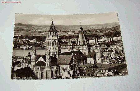 POSTAL DE MAINZ. DER DOM, ALEMANIA (Postales - Postales Extranjero - Europa)