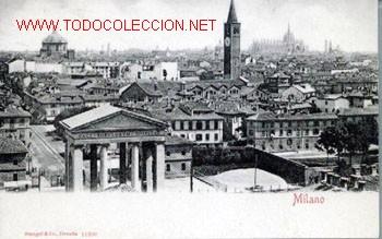 POSTAL ANTIGUA DE MILANO - NO CIRCULADA (Postales - Postales Extranjero - Europa)