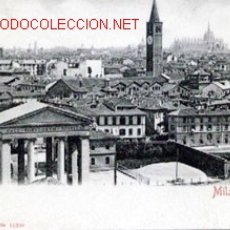 Postales: POSTAL ANTIGUA DE MILANO - NO CIRCULADA. Lote 17047441