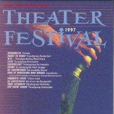 Postales: HET THEATER FESTIVAL (1997. AMSTERDAM). Lote 541821