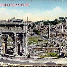 Postales: ROMA PANORAMA DEL FORO ROMANO, CIRCULADA.. Lote 2643152