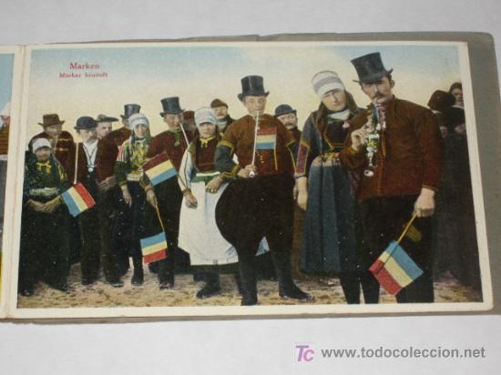 HOLANDA. MARKEN. CARNET CON 12 POSTALES COLOREADAS MUY ANIMADAS, COSTUMBRISTAS (Postales - Postales Extranjero - Europa)