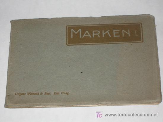 Postales: Holanda. Marken. Carnet con 12 postales coloreadas muy animadas, costumbristas - Foto 2 - 24243708