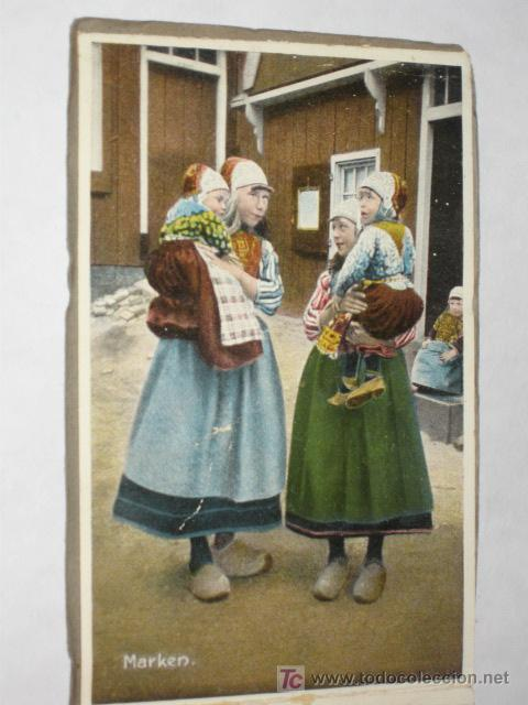 Postales: Holanda. Marken. Carnet con 12 postales coloreadas muy animadas, costumbristas - Foto 3 - 24243708