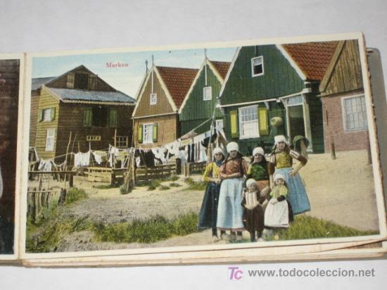 Postales: Holanda. Marken. Carnet con 12 postales coloreadas muy animadas, costumbristas - Foto 4 - 24243708
