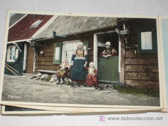 Postales: Holanda. Marken. Carnet con 12 postales coloreadas muy animadas, costumbristas - Foto 5 - 24243708