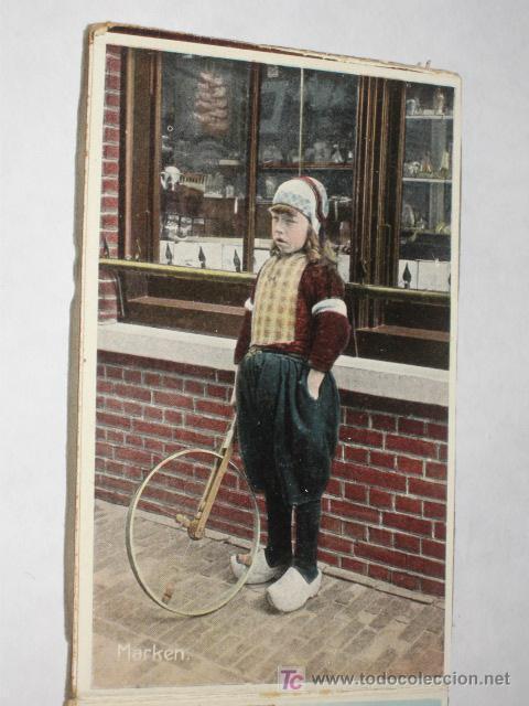 Postales: Holanda. Marken. Carnet con 12 postales coloreadas muy animadas, costumbristas - Foto 6 - 24243708
