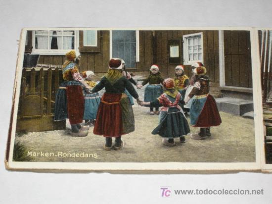 Postales: Holanda. Marken. Carnet con 12 postales coloreadas muy animadas, costumbristas - Foto 7 - 24243708