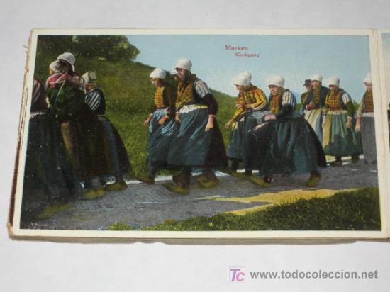 Postales: Holanda. Marken. Carnet con 12 postales coloreadas muy animadas, costumbristas - Foto 8 - 24243708