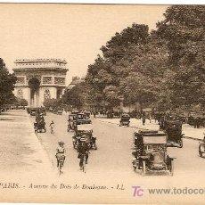 Postales: 1776. PARIS- AVENUE DU BOIS DE BOULOGNE - LL.. Lote 3154413