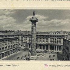 Postales: A0566 ITALIA ROMA -PLAZA COLONA COLUMNA DE MARCO AURELIO. Lote 3363043