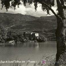Postales: A0579 ITALIA, TRENTINO, LAGO DEL CASTILLO TOBLINO. Lote 3363054