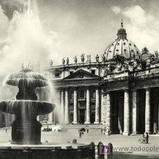 Postales: A0581 ITALIA, ROMA, SAN PEDRO, VATICANO. Lote 3363060