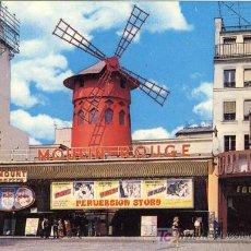 Postales: A1148 FRANCIA POSTCARD PARIS MOULIN ROUGE - &ALF. Lote 3397794