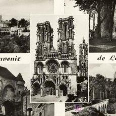 Postales: A1152 FRANCIA POSTCARD SOUVENIR DE LAON, LA CATHEDRALE - &ALF. Lote 3397816