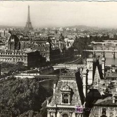 Postales: A1154 FRANCIA POSTCARD PARIS PANORAMA SOBRE LOS 7 PUENTES DEL SENA - &ALF. Lote 3397830