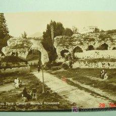 Postales: 1494 FRANCIA FRANCE NICE NIZA RUINES ROMAINES FOTO POSTAL COSAS&CURIOSAS. Lote 3512384