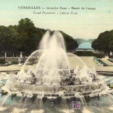 Postales: A1293 FRANCIA VERSALLES FUENTES - MAS EN TIENDA. Lote 3538444