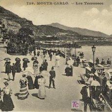 Postales: A0520 MONACO, MONTE CARLO, TERRAZAS - BONITA Y ANTIGUA CIRCA 1905 - &ALF. Lote 3659606