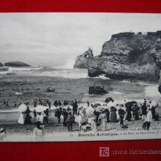 Postales: BIARRITZ, LE BAIN AU PORT-VIEUX, 1905 TP4050 . Lote 4395570