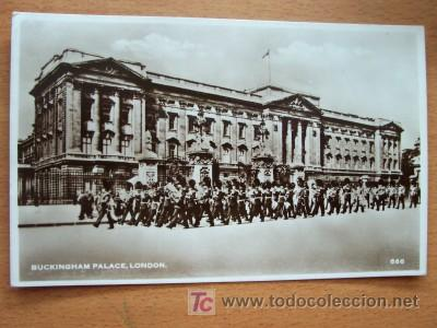 POSTAL INGLESA ANTIGUA. BUCKINGHAM PALACE, LONDON. (Postales - Postales Extranjero - Europa)