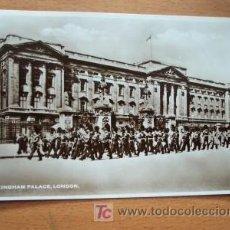 Postales: POSTAL INGLESA ANTIGUA. BUCKINGHAM PALACE, LONDON.. Lote 4883970