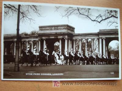 POSTAL INGELSA ANTIGUA. HYDE PARK CORNER. LONDON. (Postales - Postales Extranjero - Europa)