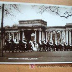 Postales: POSTAL INGELSA ANTIGUA. HYDE PARK CORNER. LONDON.. Lote 16520601