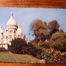 Postales: PARIS, BASILIQUE DU SACRÉ-COEUR. Lote 4838655