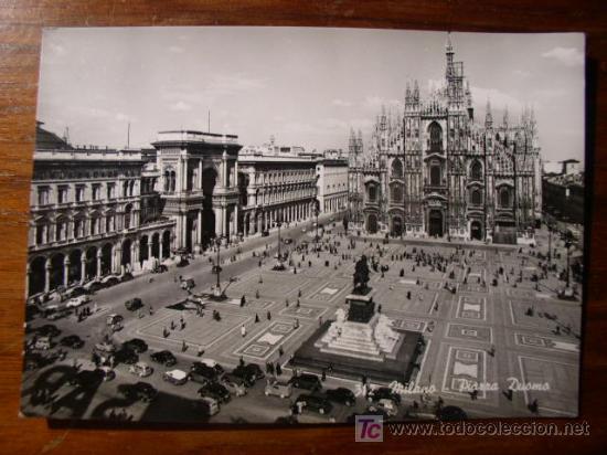 MILANO, PIAZZA DUOMO (Postales - Postales Extranjero - Europa)