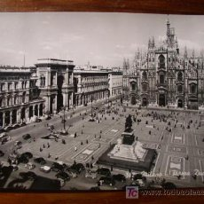 Postales: MILANO, PIAZZA DUOMO. Lote 4840285