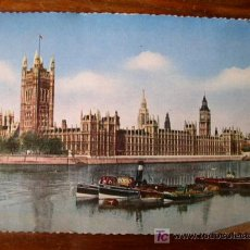 Postales: LONDON, LONDRES. THE HOUSES OF PARLIAMENT.. Lote 4841041