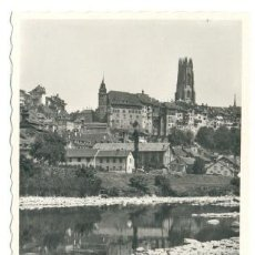 Postales: FRIBOURG ET LA SARINE (SUIZA) .... SIN CIRCULAR . Lote 18495612