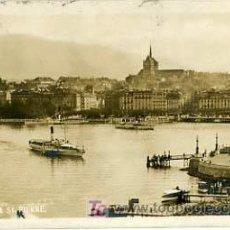 Postales: BROMURE, SUIZA, GENÈVE & ST. PIERRE , P12847. Lote 5156619