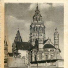 Postales: POSTAL MAINZ AM RHEIN - DOM - SELLO ALEMÁN - AÑO 1959. Lote 5801443