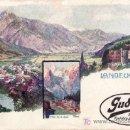 Postales: POSTAL SIN CIRCULAR DE LANDECK-HOTEL TRAFOI. Lote 22265418