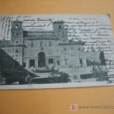 Postales: ROMA VILLA MEDICI. Lote 6728254