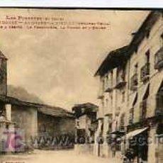 Postales: POSTAL DE ANDORRA, Nº1031, LA PLAZA, LA PRISION Y LA IGLESIA. Lote 5756442
